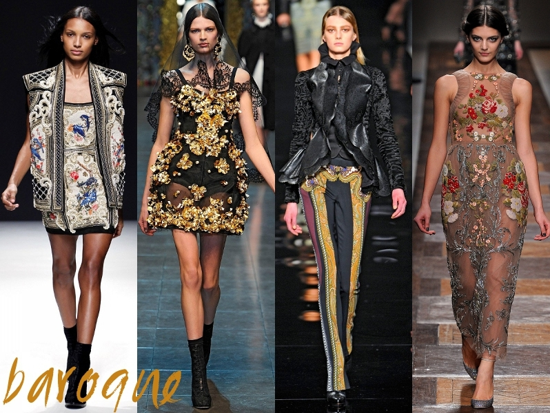BAROQUE FALL 2012 TRENDS
