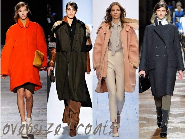 Oversized Coats Trends Fall Winter 2012