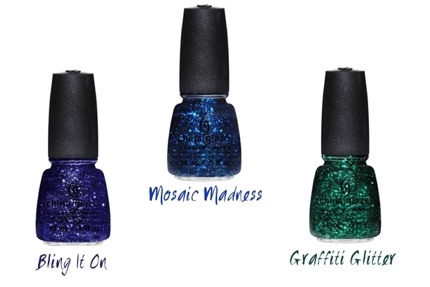 China Glaze Glimmers Holiday 2012 Nail Polish Collection