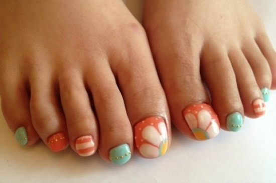 nail art for pedicure best nails 2018 cool pedicure nail art ideas for fall prinsesfo image - Nail Design Ideas 2012