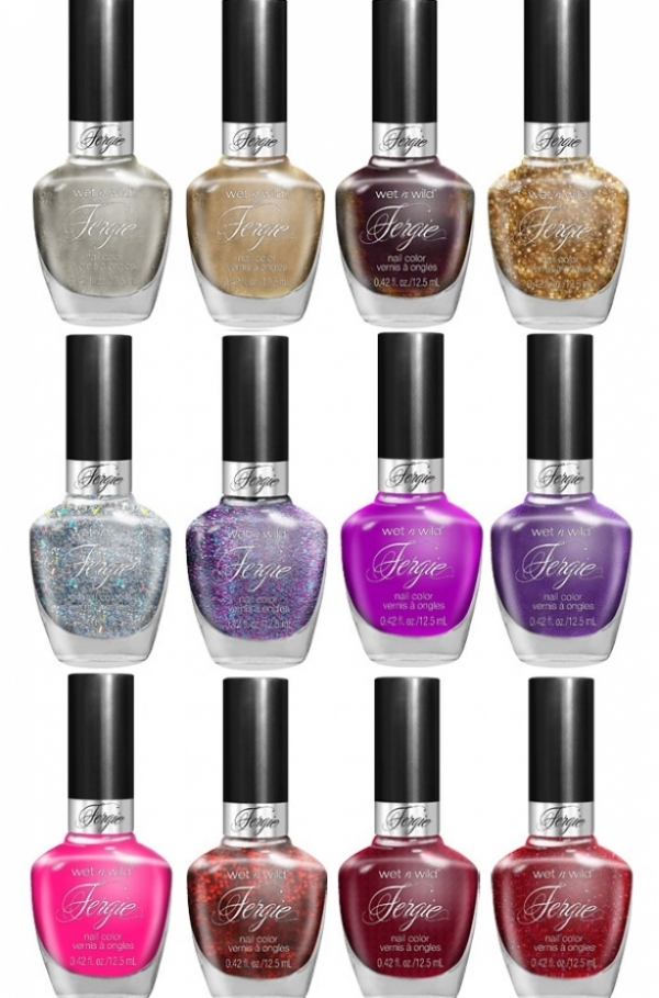 Fergie Wet N Wild Nail Polishes