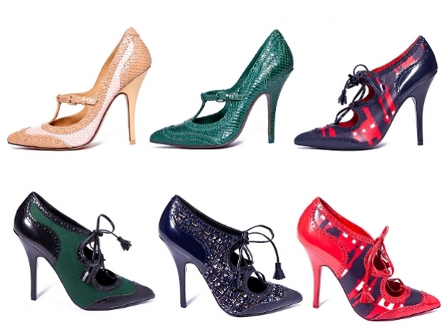 Tory Burch Fall 2012 Shoes