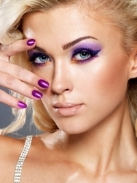 Stylish Purple Makeup Ideas