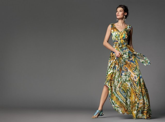 Bianca Balti For Dolce Amp Gabbana Fall Winter 2012 Collection