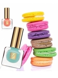 Estee Lauder Spring 2013 Paris Macarons Pure Color Nail Polishes
