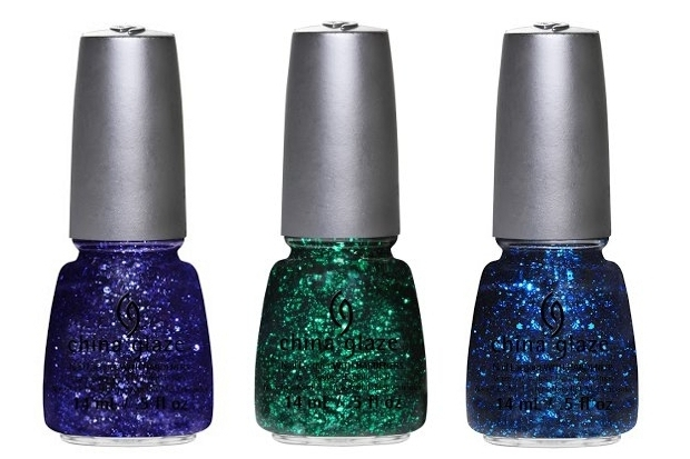 China Glaze Glitz Bitz n Pieces Spring 2013 Nail Polishes