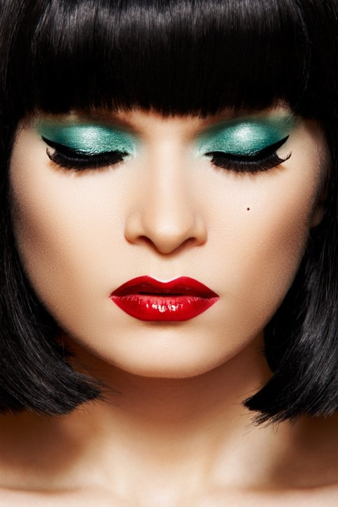 Christmas Makeup Ideas 2012.