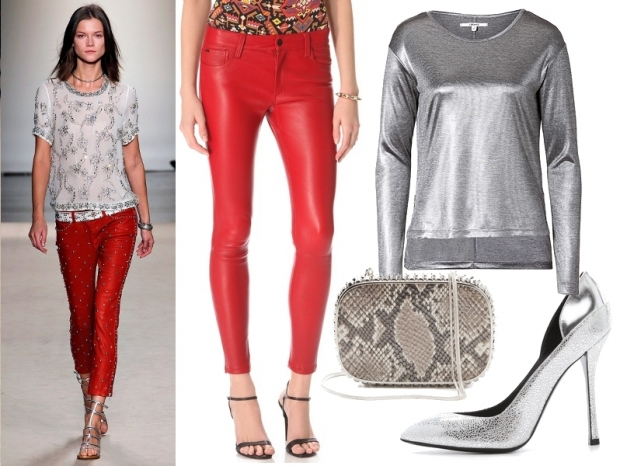 New Years Party Outfit Ideas - Leather Pants