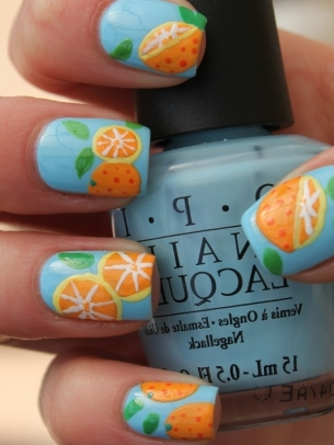 Fruit Nail Art