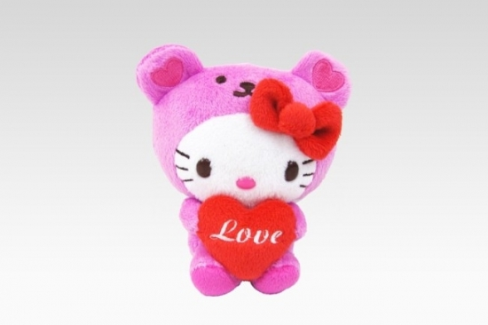 Hello Kitty Heart Bear Valentine