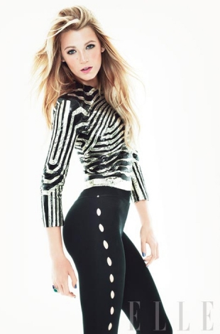 Blake Lively Elle on For Blake Lively Talks Fashion And Boyfriends With Elle Us March 2012