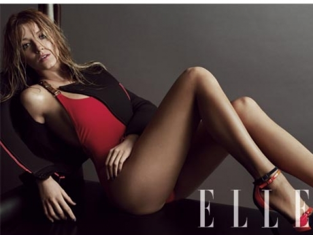 Blake Lively Covers ELLE March 2012