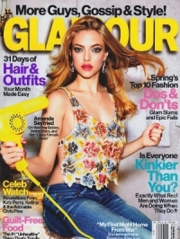 Amanda Seyfried Covers Glamour US March 2012