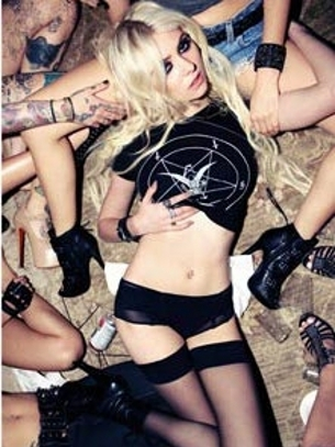 Taylor Momsen Goes Sexy For FHM March 2012