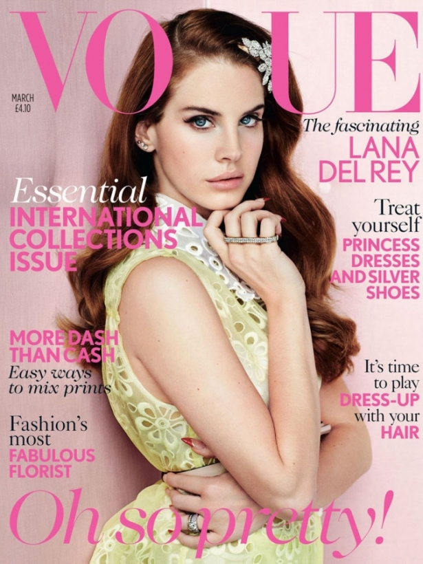 Lana Del Rey Covers Vogue UK March 2012