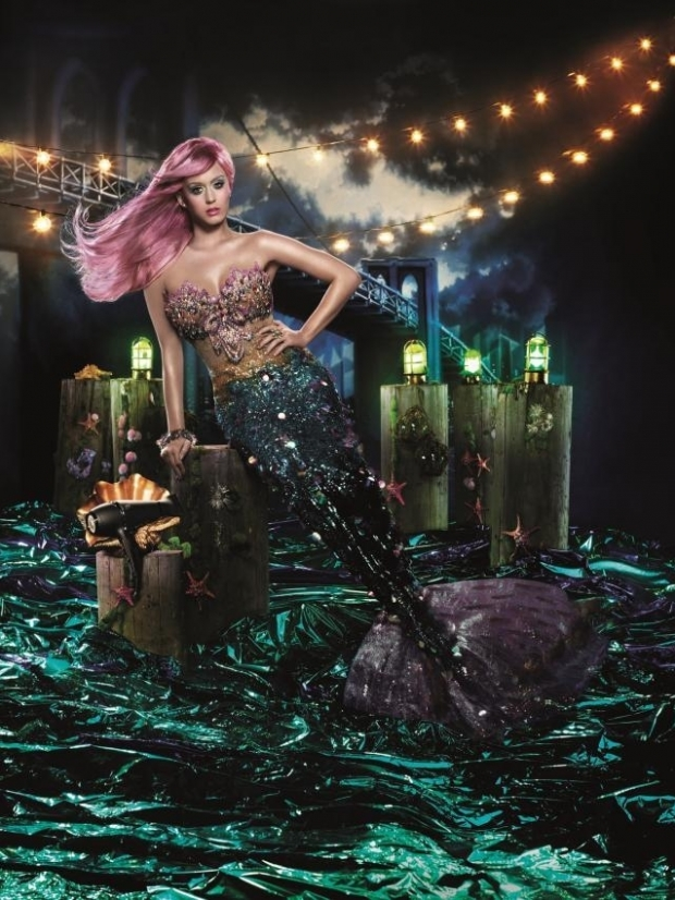 Katy Perry for ghd Air Hairdryer Campaign 2012
