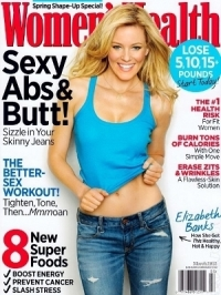 Elizabeth Banks Talks Fitness Tricks with Women's Health March 2012