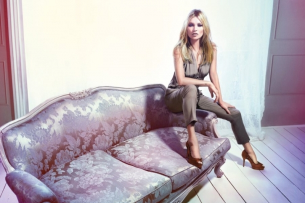 Kate Moss for Liu Jo Spring 2012 Campaign