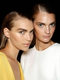 Spring/Summer 2012 Slicked Hairstyle Trends