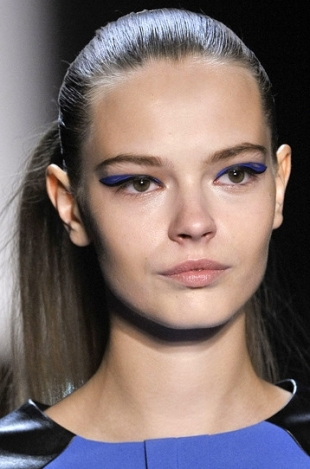 Spring 2012 Slicked Hairstyle Trends