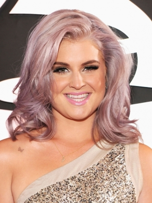 Kelly Osbourne Hairstyle 2012 Grammy Awards