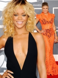 2012 Grammy Awards Celebrity Dresses [PHOTOS]