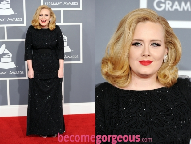 Adele Dress 2012 Grammy Awards