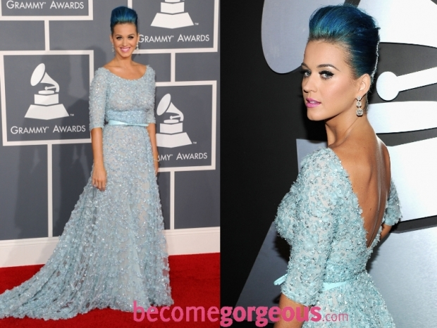 Katy Perry Dress 2012 Grammy Awards