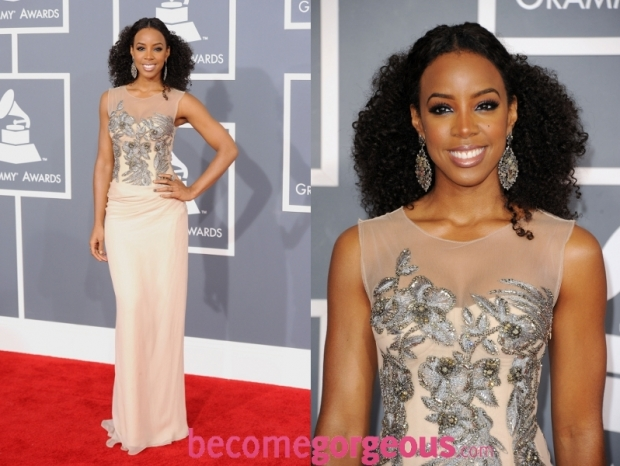 Kelly Rowland Dress 2012 Grammy Awards
