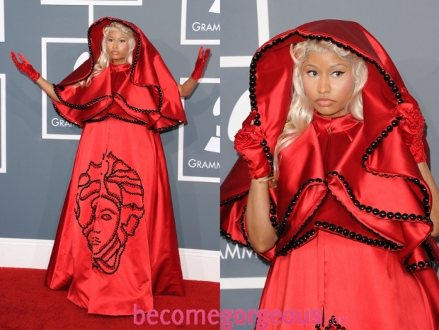 Nicki Minaj Dress 2012 Grammy Awards