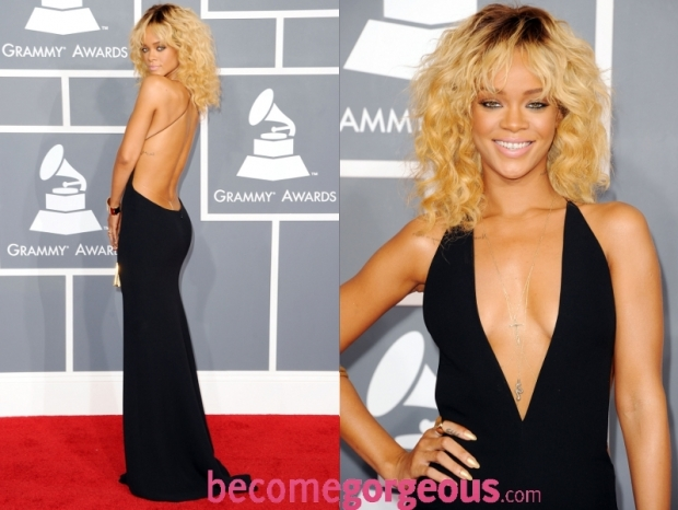 Rihanna Dress 2012 Grammy Awards