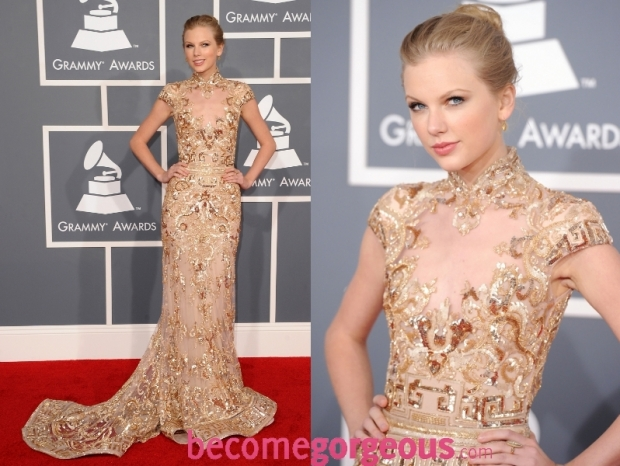 Taylor Swift Dress 2012 Grammy Awards