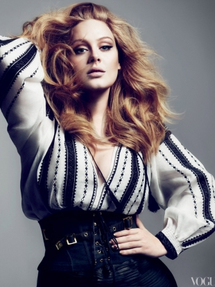 Adele Covers VOGUE March 2012