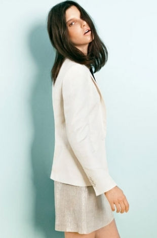 Tati Cotliar for Massimo Dutti February 2012 Lookbook