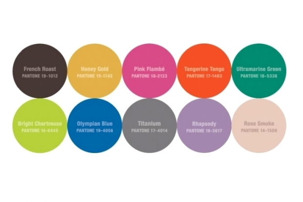Pantone Color Report Fall 2012 - Color Trends