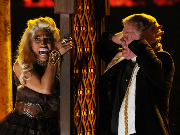 Nicki Minaj Slammed For Mock-Religious Grammy Performance
