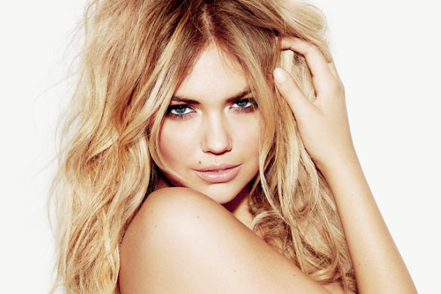 Bikini Model Kate Upton Poses for Esquire March 2012