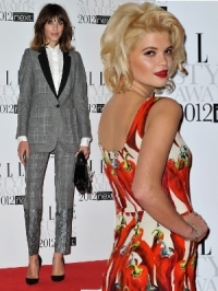 2012 ELLE Style Awards Red Carpet Looks [PHOTOS]