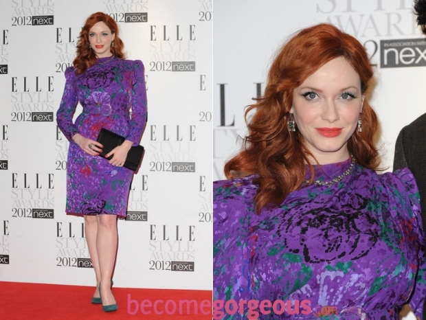 Christina Hendricks 2012 ELLE Style Awards Dress