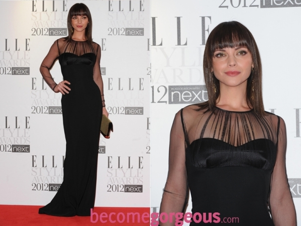 Christina Ricci 2012 ELLE Style Awards Red Carpet Looks