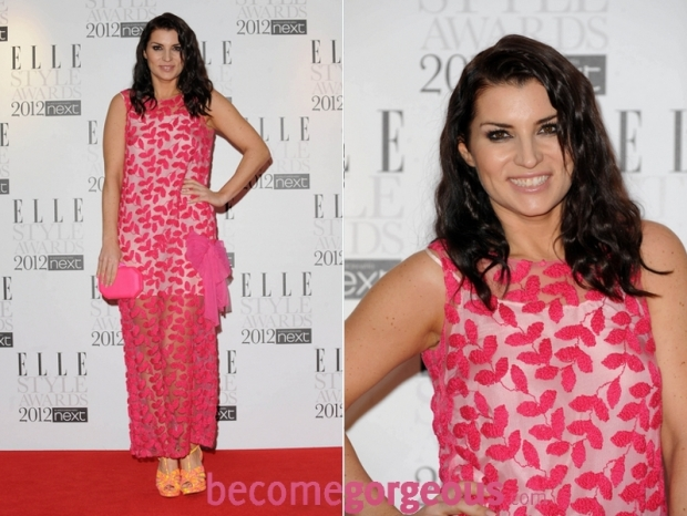 Grace Woodward 2012 ELLE Style Awards dress