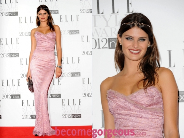 Isabeli Fontana 2012 ELLE Style Awards dress