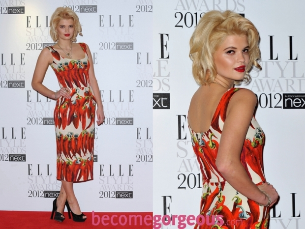 Pixie Geldof 2012 ELLE Style Awards Dresses
