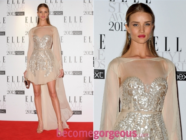 Rosie Huntington-Whiteley 2012 ELLE Style Awards Red Carpet Looks