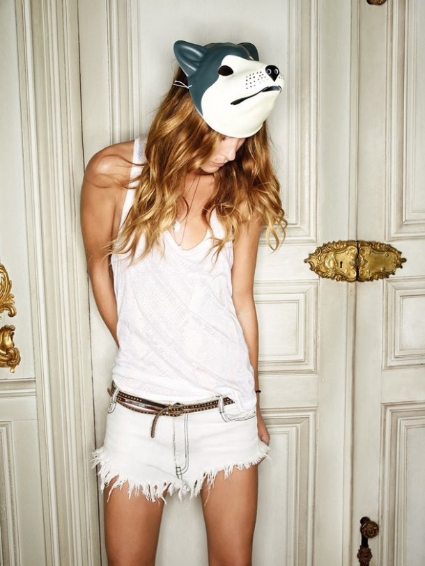 Erin Wasson Zadig & Voltaire Spring 2012 Campaign