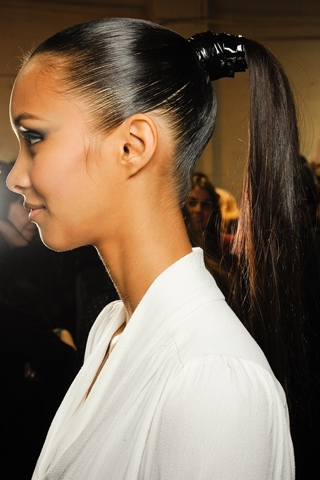 Fall 2012 Updo Trends Runway Hairstyles