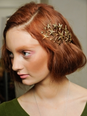 Fall 2012 Flirty Runway Hairstyles