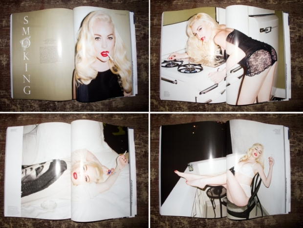Lindsay Lohan by Terry Richardson for LOVE Magazine 2012