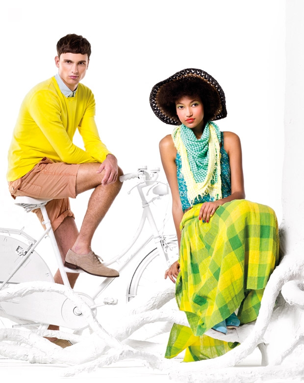 United colors of benetton spring summer 2012 campaign for Benetton we are colors