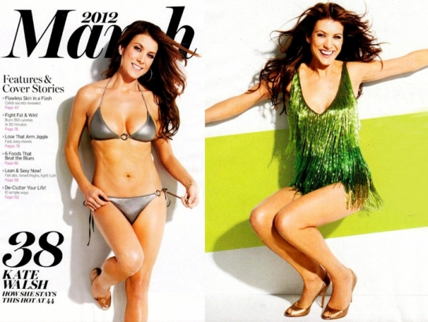Kate Walsh Talks Diet and Plastic Surgeries with SHAPE March 2012